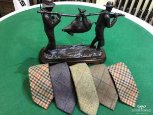corbata caza regalo