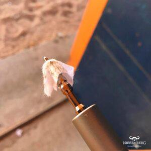 algodón limpio del rodaje del cañón de rifle