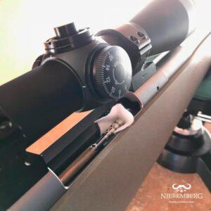 Varilla para rodaje de cañón de rifle