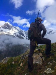 mochila vorn caza alta montaña rececho