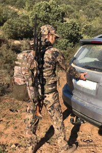 mochila caza vorn cazador