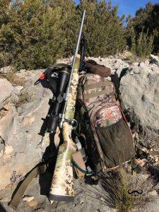 mochila vorn caza rifle