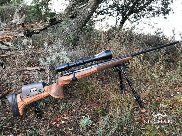 monopode para culata rifle caza