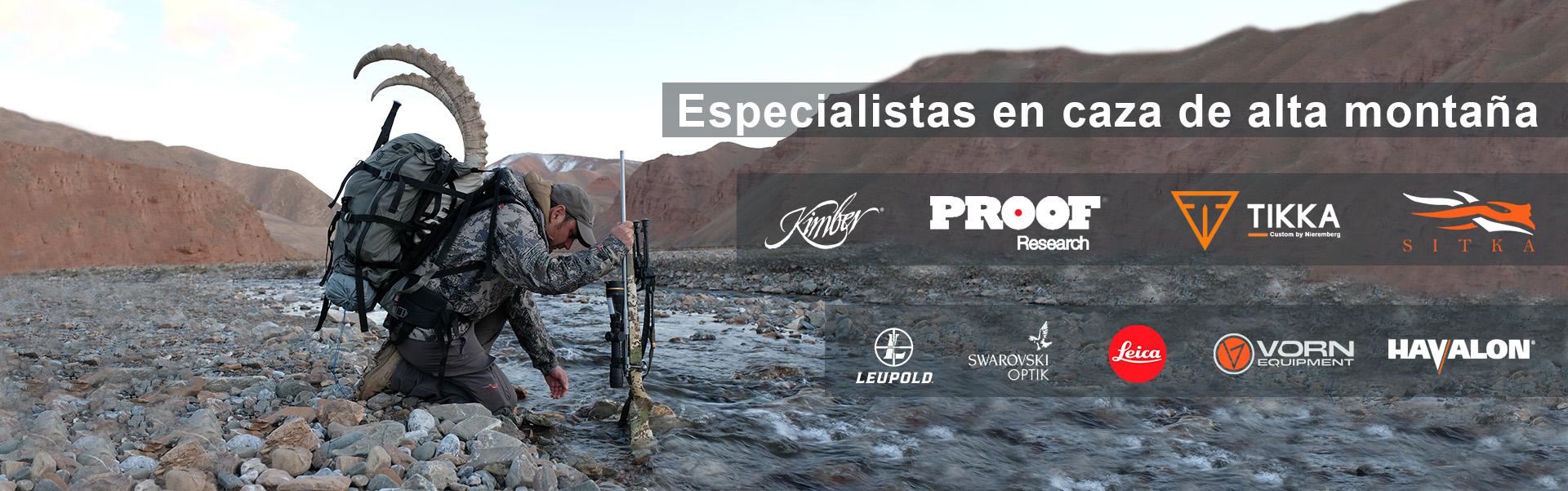 especialistas caza alta montaña