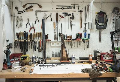 taller reparacion de armas