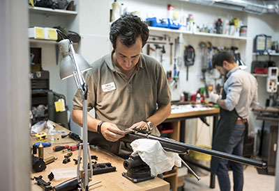reparacion de armas taller