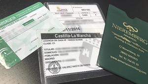 licencia de caza España