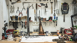 limpieza y mantenimiento de armas de caza
