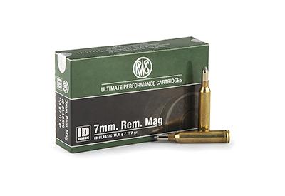 municion rws rifle