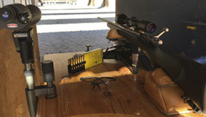 puesta a tiro armas